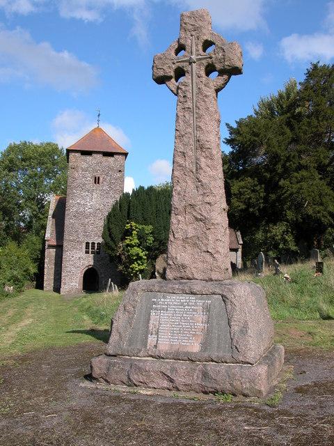 War Memorial at Llangattock-Vibon-Avel