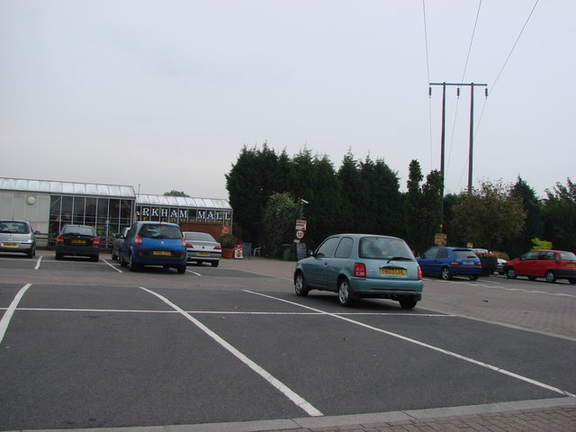 Markham Grange Garden Centre and Shopping Mall exit.