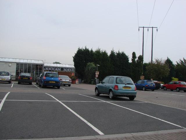 Markham Grange Garden Centre and Shopping Mall exit.