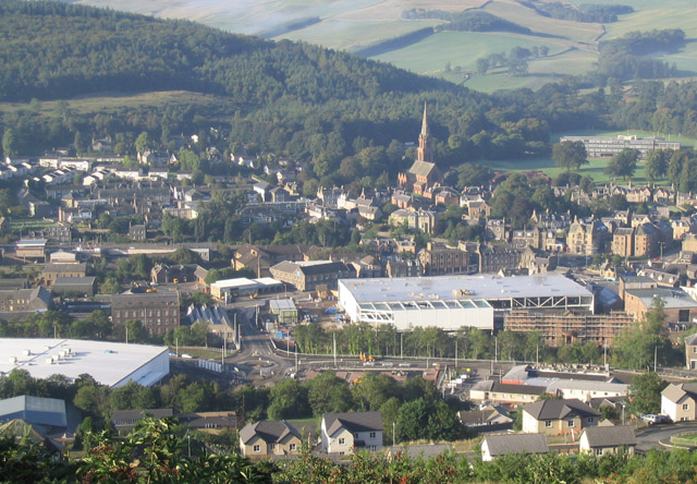 Galashiels Town Centre Redevelopment Works