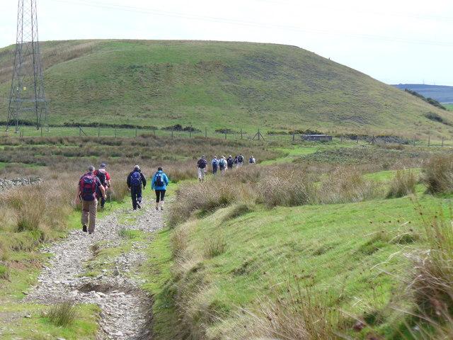 Rhymney Valley Ridgeway at Carnedd Lwyd