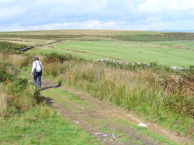 Rhymney Valley Ridgeway by Twyn Hywel