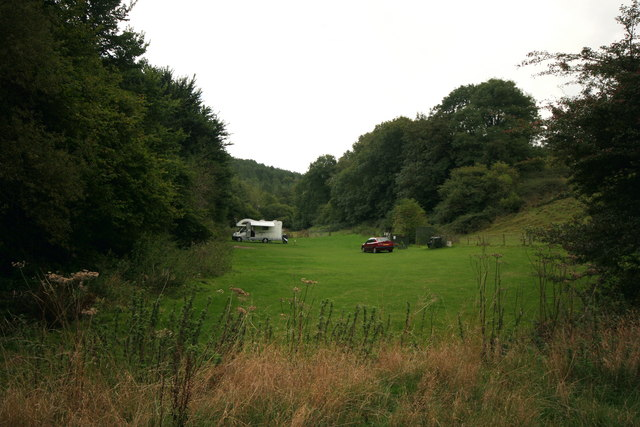 Chalkland valley, west of Seaton