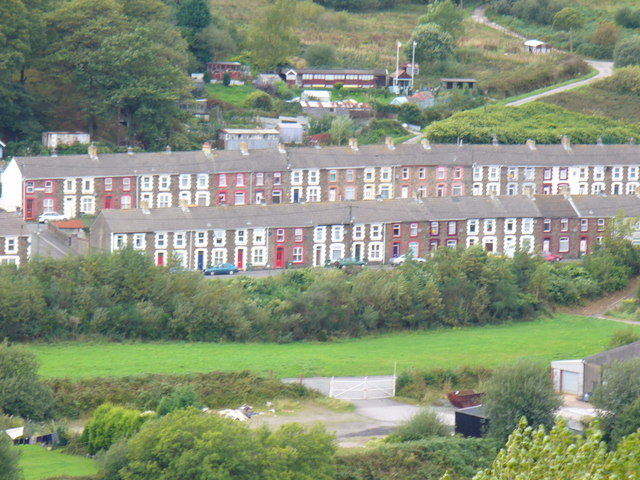 Miners' Rows, Senghenydd