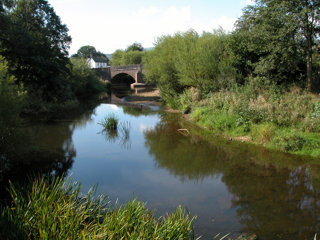 The River Monnow at Skenfrith