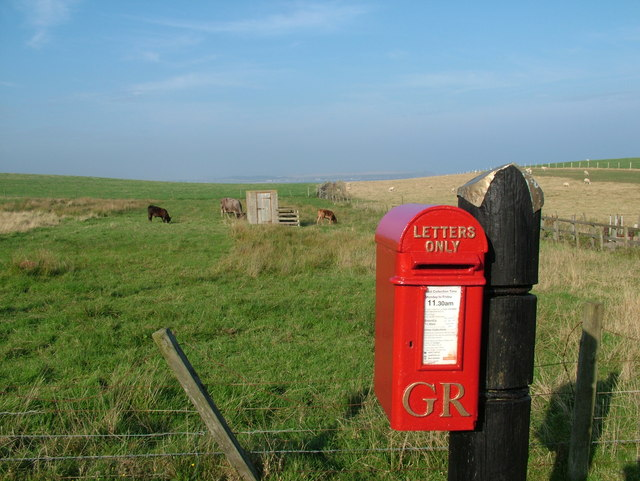 Postbox at Whinnyfold