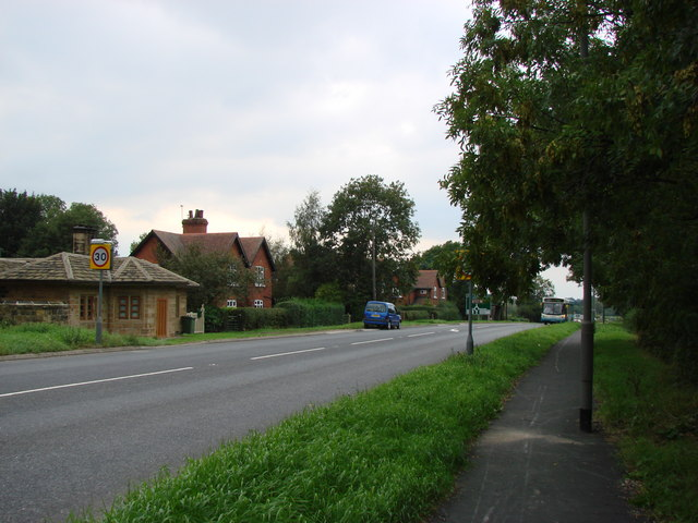 Taylor Wood Cottages, A 638 Junction with B 6428