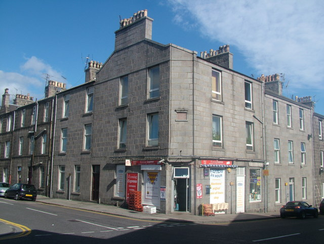 Corner Shop, Hutcheon Street, Aberdeen