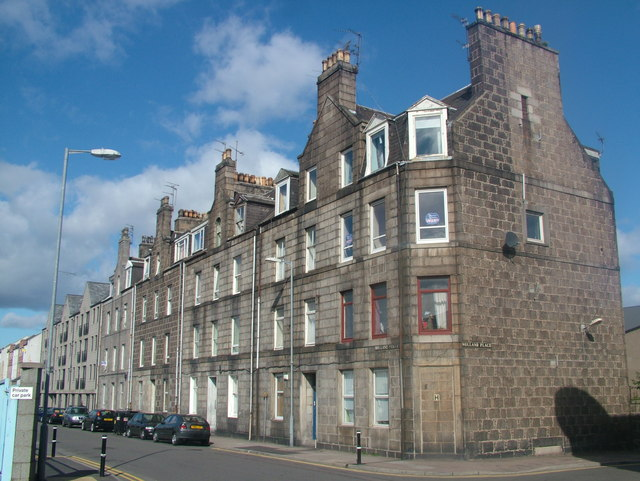 Granite Tenements on Holland Street, Aberdeen