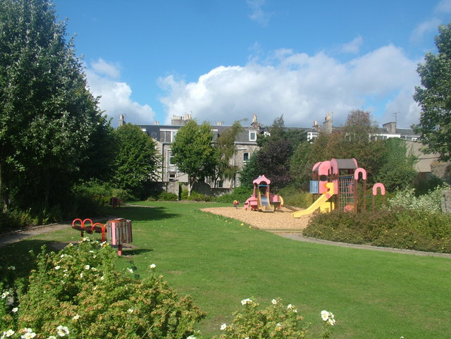 Playpark by Stafford Street, Aberdeen