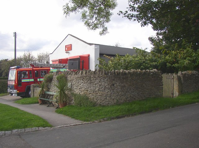 Fire Station and pinfold, Snainton