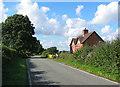 SJ7248 : Gonsley Cottages and Den Lane by Espresso Addict