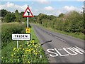 TL0167 : Yelden - Entering the village from the East by Colin Mitchell