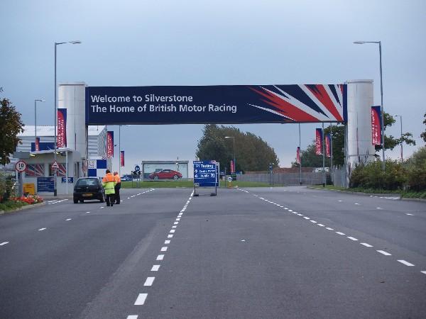 Silverstone Motor Racing Circuit Main Entrance