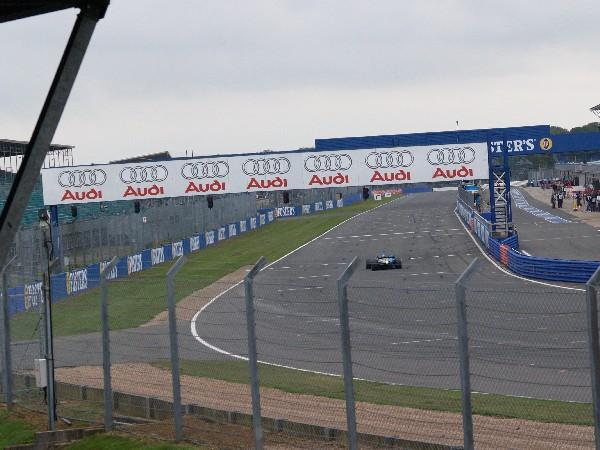 Silverstone Motor Racing Circuit Pit Straight