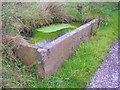 SE1427 : Trough by the driveway to Horse Close, North Bierley by Humphrey Bolton