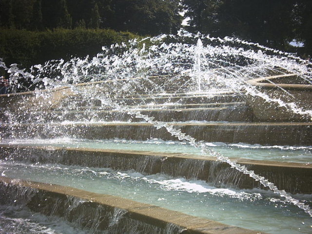 Fountains, Alnwick Gardens