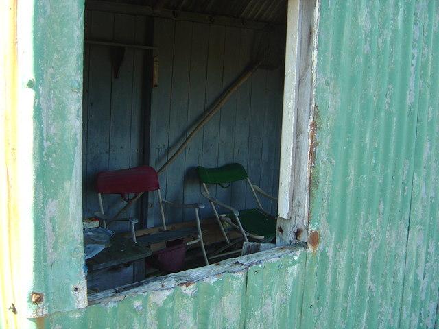 Ghillie's hut at Lochan nam Fiann