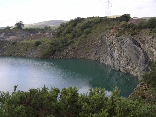 Riskend Quarry, Kilsyth