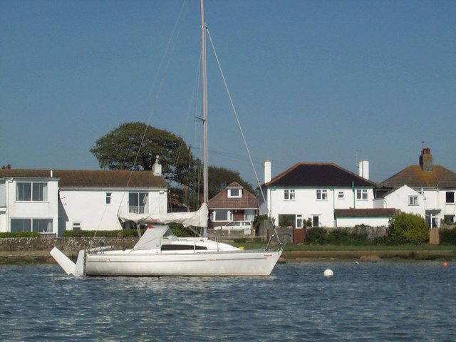 My boat and bungalow, Stanpit
