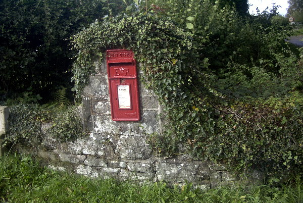 Letterbox at Coldharbour