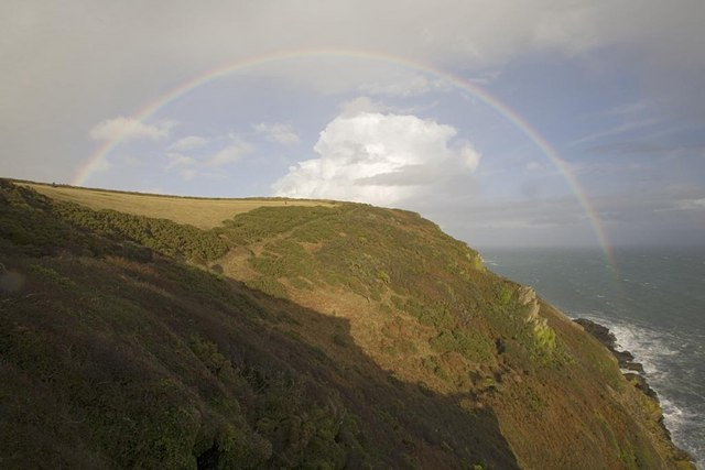 Rainbow over Blackbottle Rock