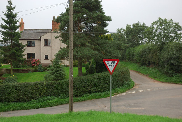 Crossroads near Ingleby