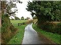 TL9650 : Road into Kettlebaston by Keith Evans