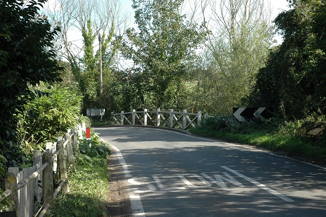 Road bridge over Avon Water, by Gordleton Mill