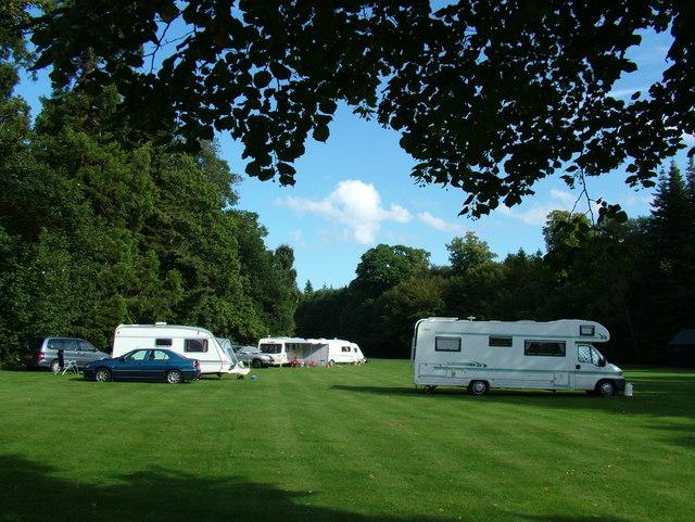 Camping at Brodie