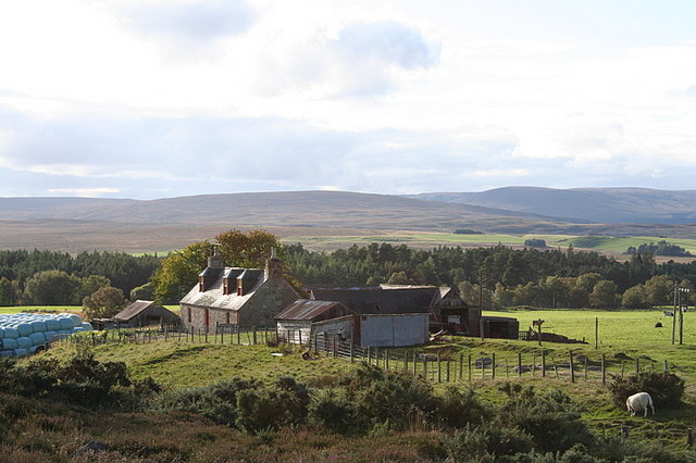 Refouble Croft on the slopes of Hill of Aitnoch