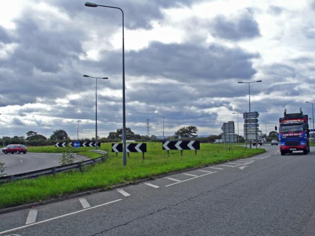 Capenhurst - M56/A5117 roundabout