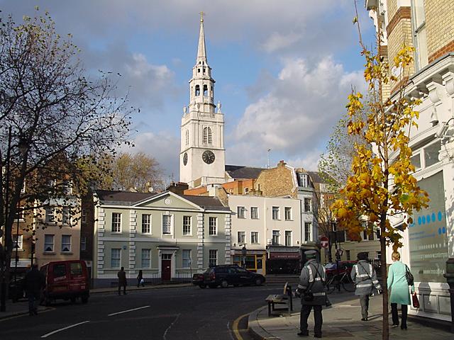 The Parish Church of St James, Clerkenwell.