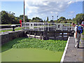 SJ6275 : Barnton - Saltersford Locks by Mike Harris