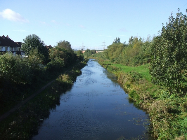 Walsall Canal from Midland Road Bridge