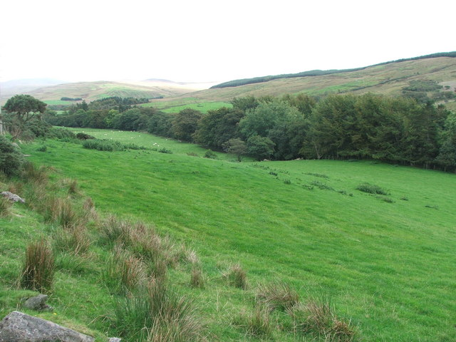 Farmland in Barr Glen.