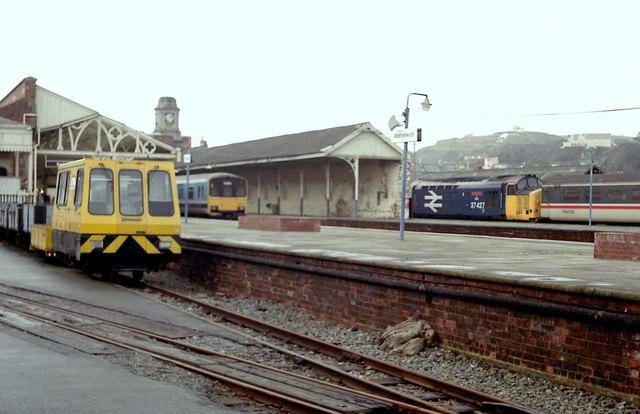 Aberystwyth Station, 1988