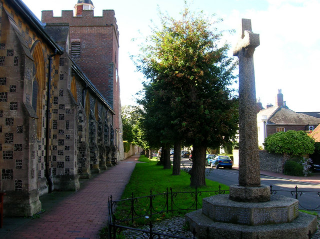 St John the Baptist Church, Southover High Street