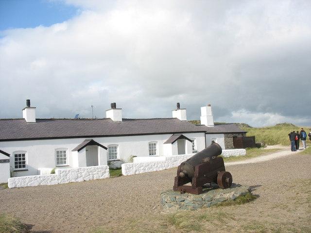Restored Pilots' Cottages, Llanddwyn