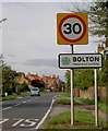 SE7752 : Entering Bolton from the South by Charles Rispin
