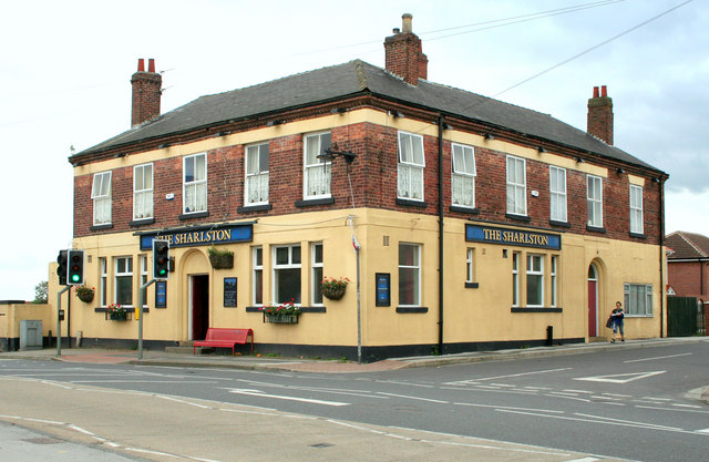 Sharlston Village, Sharlston Public House