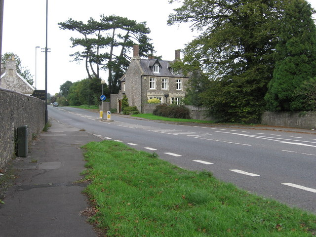 A38 heading towards Rudgeway