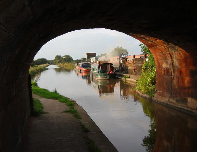 Autumn on the Shropshire Union Canal