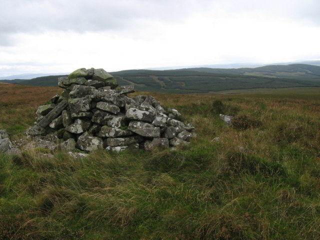 Cairn on West Foredibban Hill
