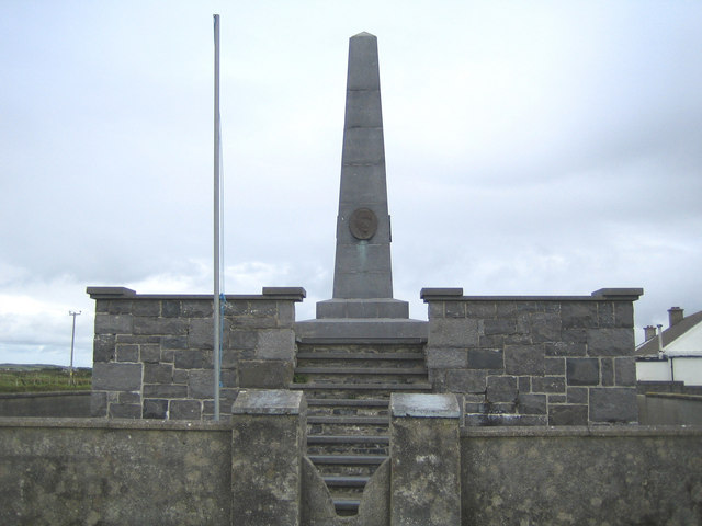 Banna Strand: Sir Roger Casement Memorial