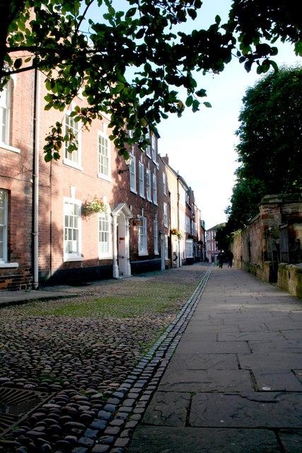 College Precincts, Worcester