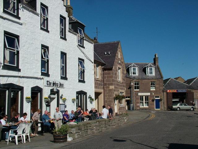 The Ship Inn, Stonehaven