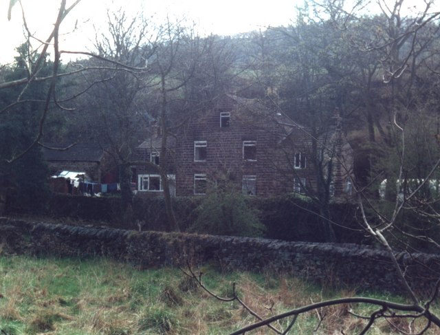 Old Mill House in the Loxley Valley