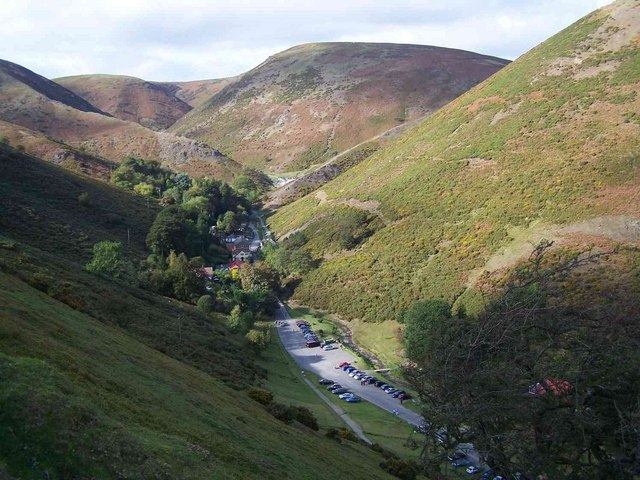 Carding Mill Valley from the Road By... © Geoff Pick cc-by ...