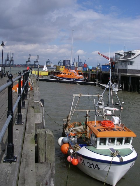 The waterfront - Harwich